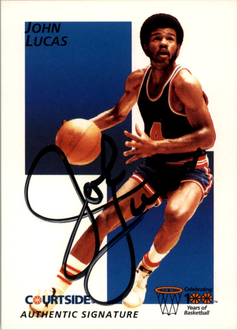 1992 Courtside Flashback Autographs #20 John Lucas
