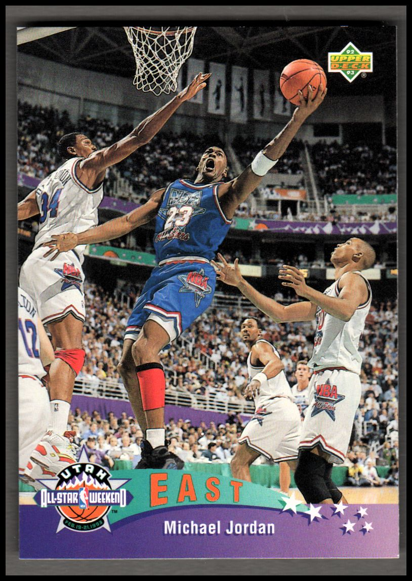 1992-93 Upper Deck #425 Michael Jordan AS