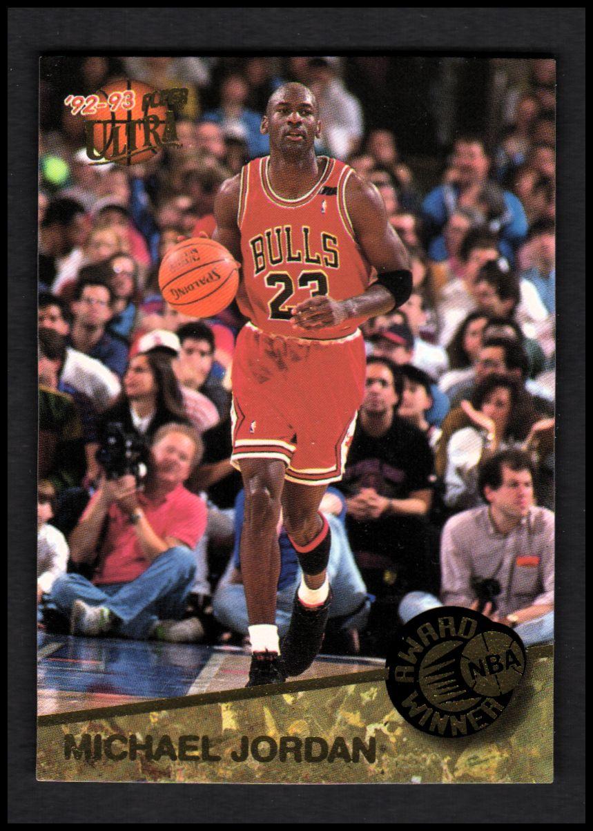 1992-93 Ultra Award Winners #1 Michael Jordan