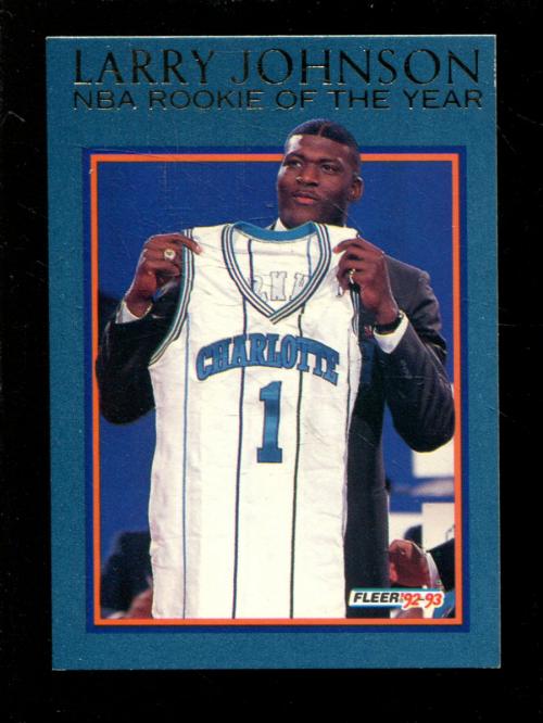 1992-93 Fleer Larry Johnson #1 Larry Johnson