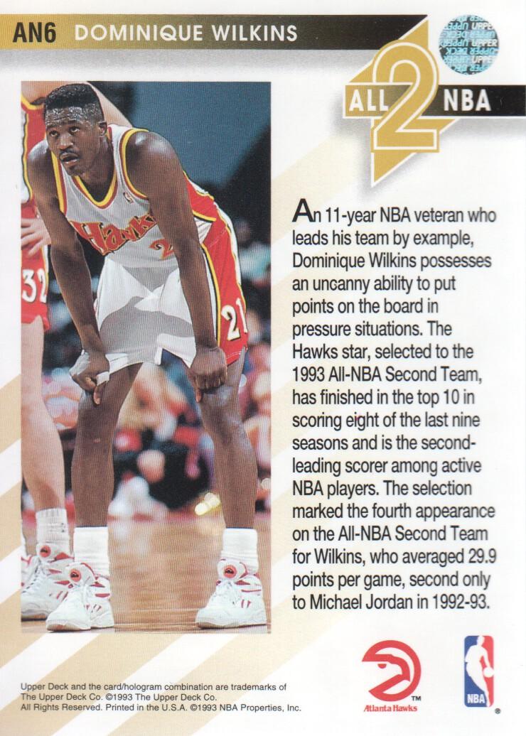 1993-94-Upper-Deck-All-NBA-Basketball-Cards-Pick-From-List thumbnail 5