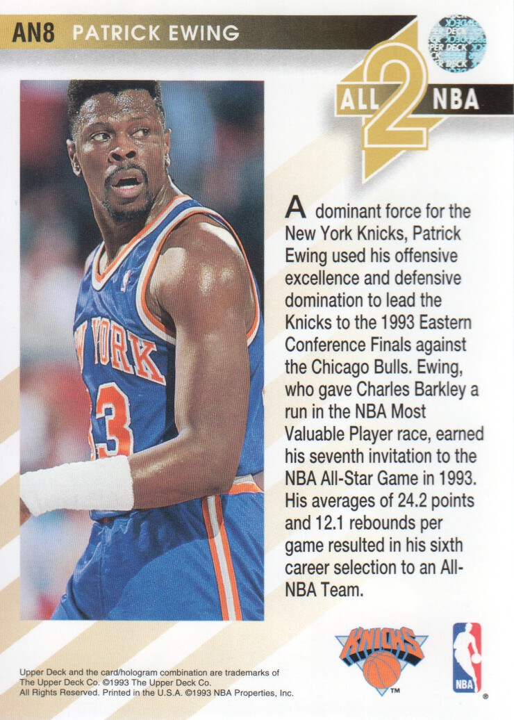 1993-94-Upper-Deck-All-NBA-Basketball-Cards-Pick-From-List thumbnail 7