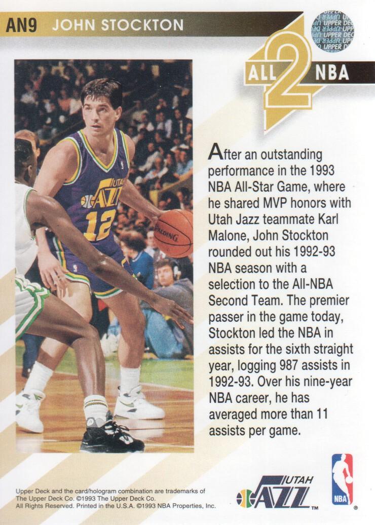 1993-94-Upper-Deck-All-NBA-Basketball-Cards-Pick-From-List thumbnail 9