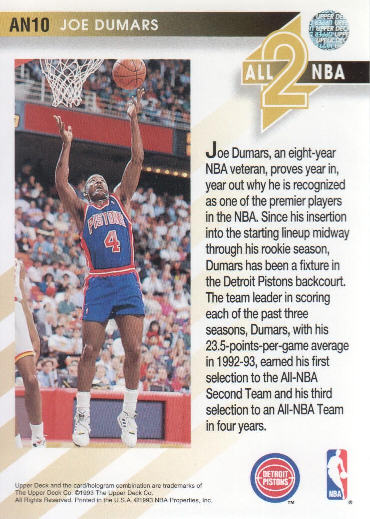 1993-94-Upper-Deck-All-NBA-Basketball-Cards-Pick-From-List thumbnail 11