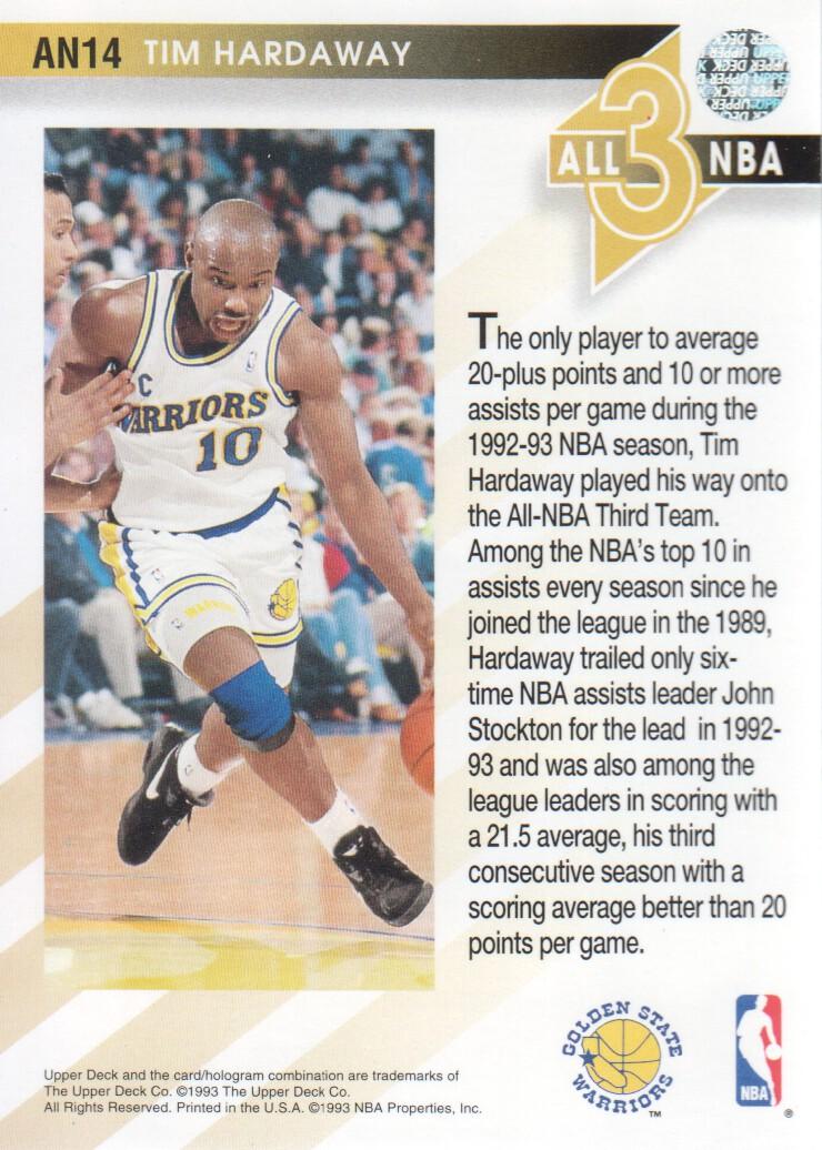 1993-94-Upper-Deck-All-NBA-Basketball-Cards-Pick-From-List thumbnail 15