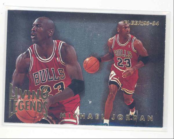 1993-94 Fleer Living Legends #4 Michael Jordan