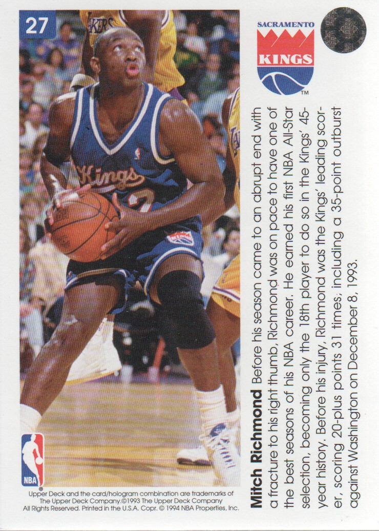 1993-94-Upper-Deck-Pro-View-Basketball-Cards-Pick-From-List thumbnail 47