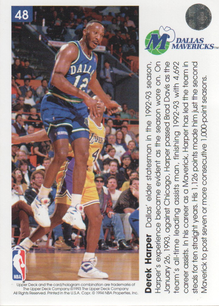 1993-94-Upper-Deck-Pro-View-Basketball-Cards-Pick-From-List thumbnail 79