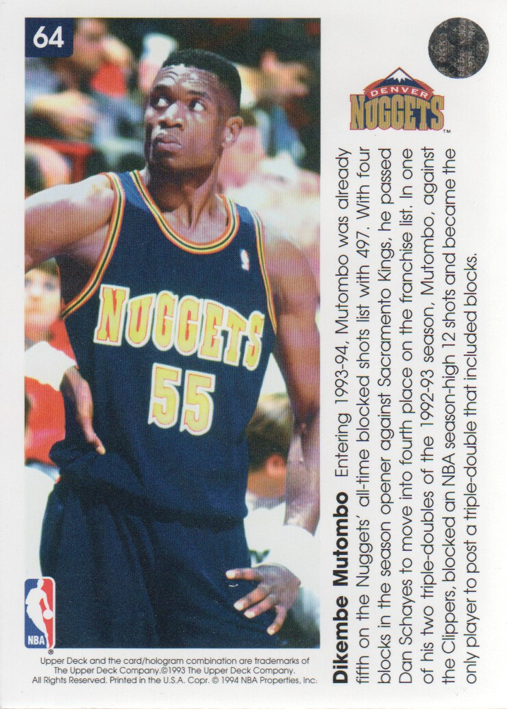 1993-94-Upper-Deck-Pro-View-Basketball-Cards-Pick-From-List thumbnail 111