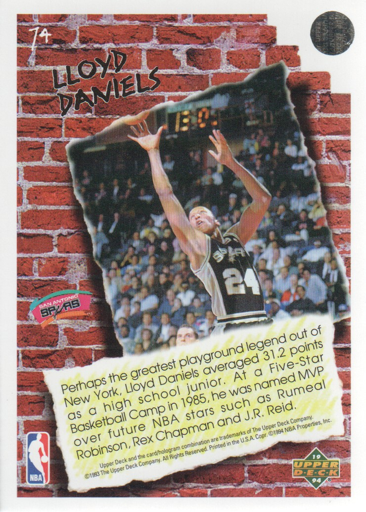 1993-94-Upper-Deck-Pro-View-Basketball-Cards-Pick-From-List thumbnail 127