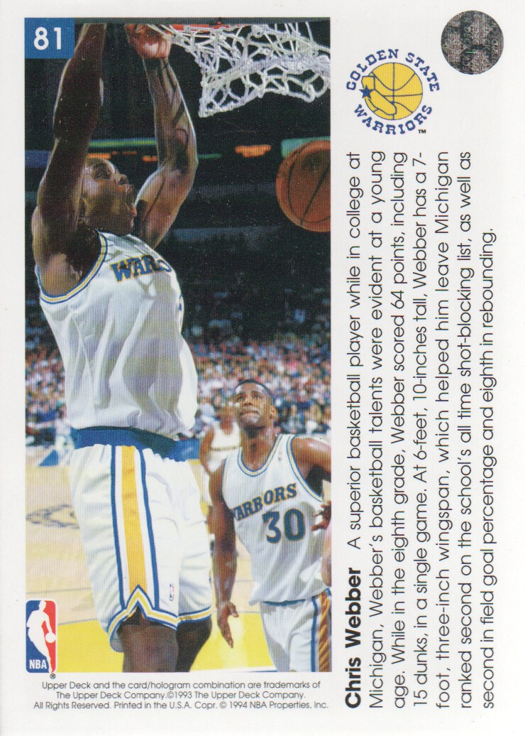 1993-94-Upper-Deck-Pro-View-Basketball-Cards-Pick-From-List thumbnail 139