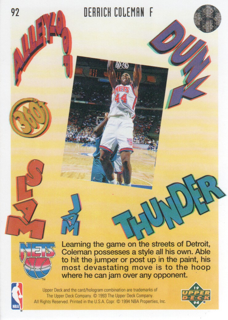 1993-94-Upper-Deck-Pro-View-Basketball-Cards-Pick-From-List thumbnail 154