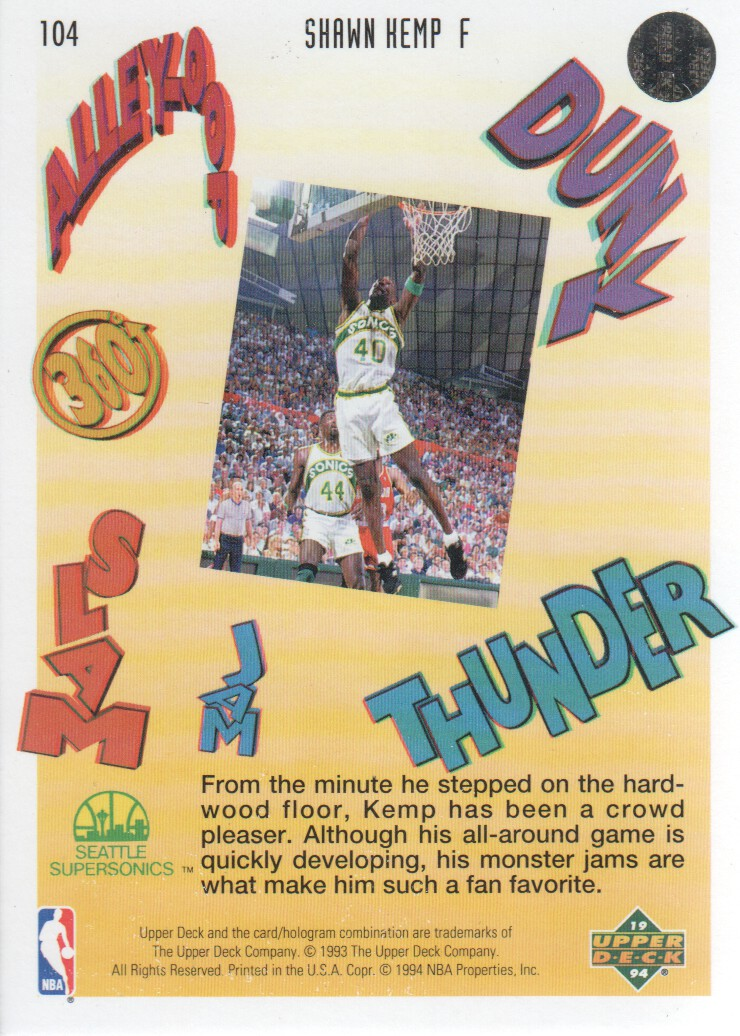 1993-94-Upper-Deck-Pro-View-Basketball-Cards-Pick-From-List thumbnail 174