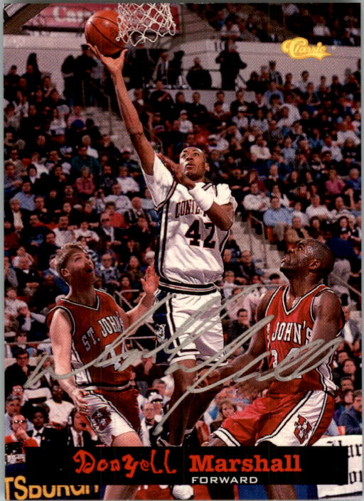 1994 Classic National Party Autographs #3 Donyell Marshall