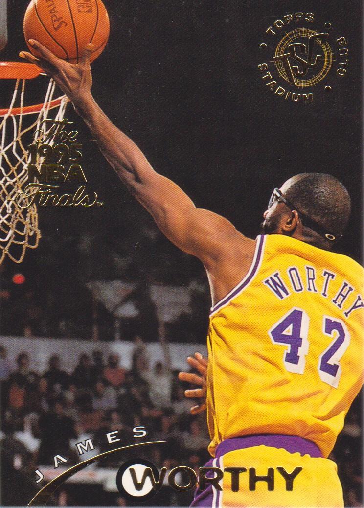 1994-95 Stadium Club Super Teams NBA Finals #146 James Worthy