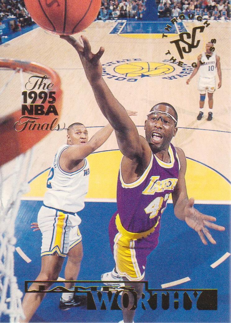 1994-95 Stadium Club Super Teams NBA Finals #147 James Worthy TG