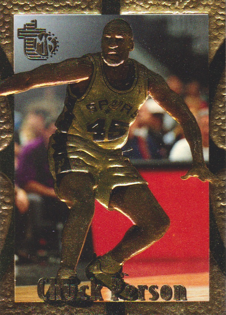 1994-95 Embossed Golden Idols #87 Chuck Person
