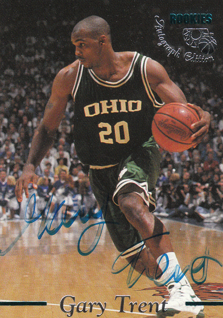 1995 Classic Autographs #10 Gary Trent/3465