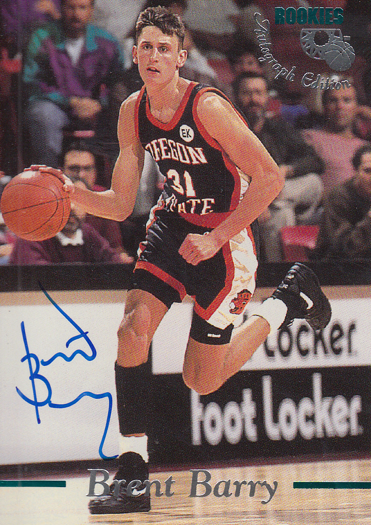1995 Classic Autographs #14 Brent Barry/2690