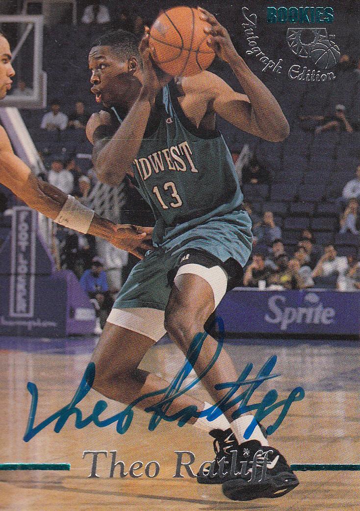 1995 Classic Autographs #16 Theo Ratliff/3310