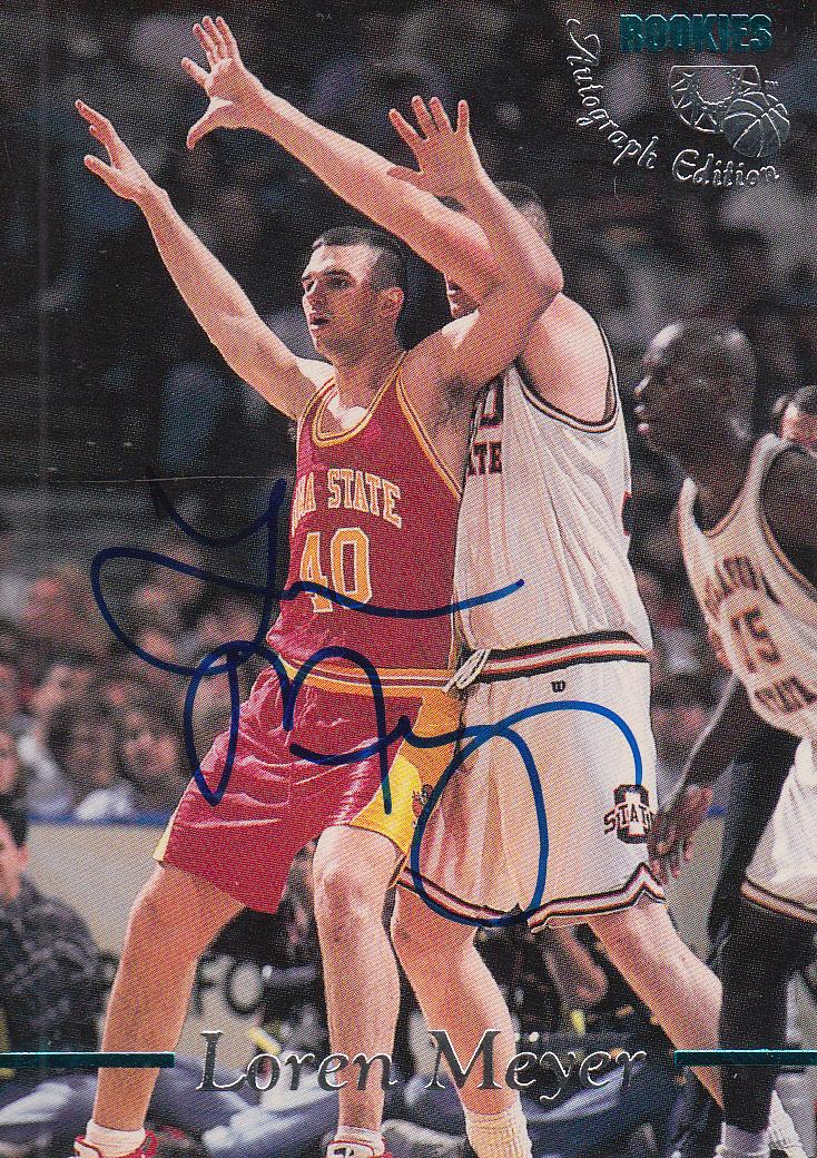 1995 Classic Autographs #22 Loren Meyer/2920