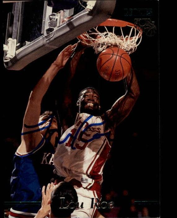1995 Classic Autographs #28 Lou Roe/2845
