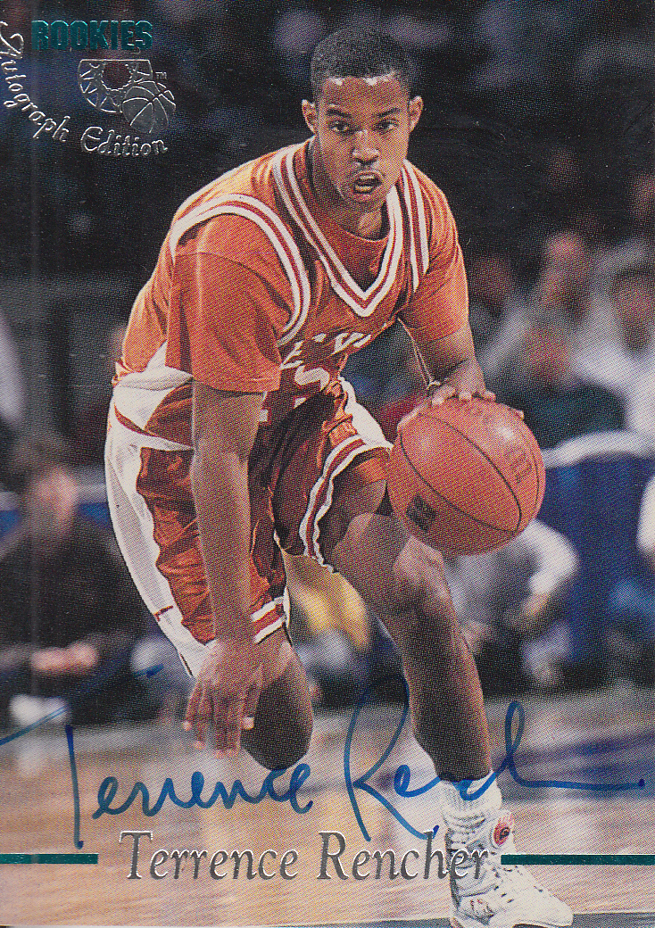 1995 Classic Autographs #30 Terrence Rencher/3275