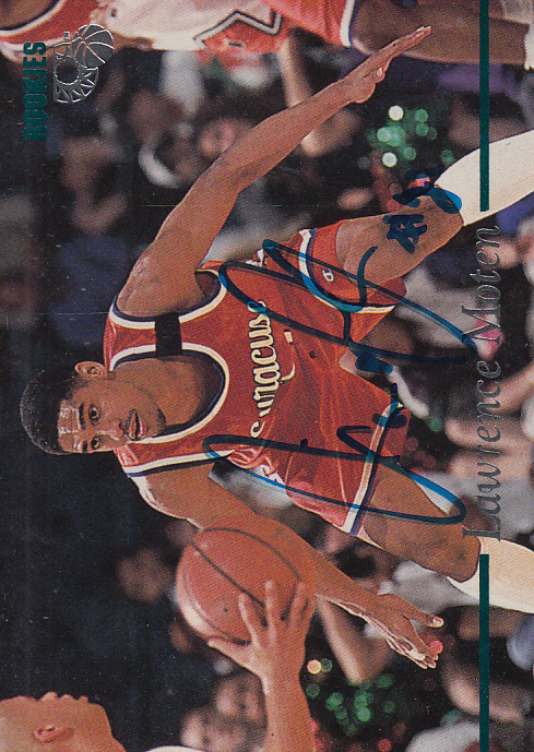 1995 Classic Autographs #34 Lawrence Moten/1715