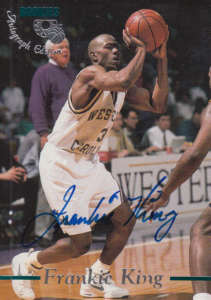 1995 Classic Autographs #35 Frankie King/3330