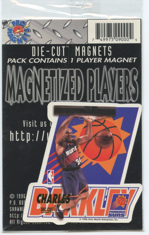 1995-96 Pro Mags Die Cuts #1 Charles Barkley