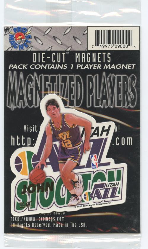 1995-96 Pro Mags Die Cuts #22 John Stockton