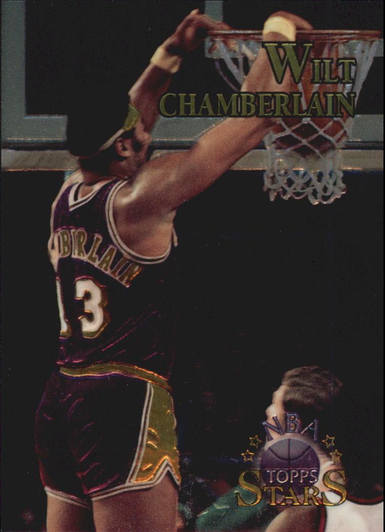 1996 Topps Stars Finest #9 Wilt Chamberlain