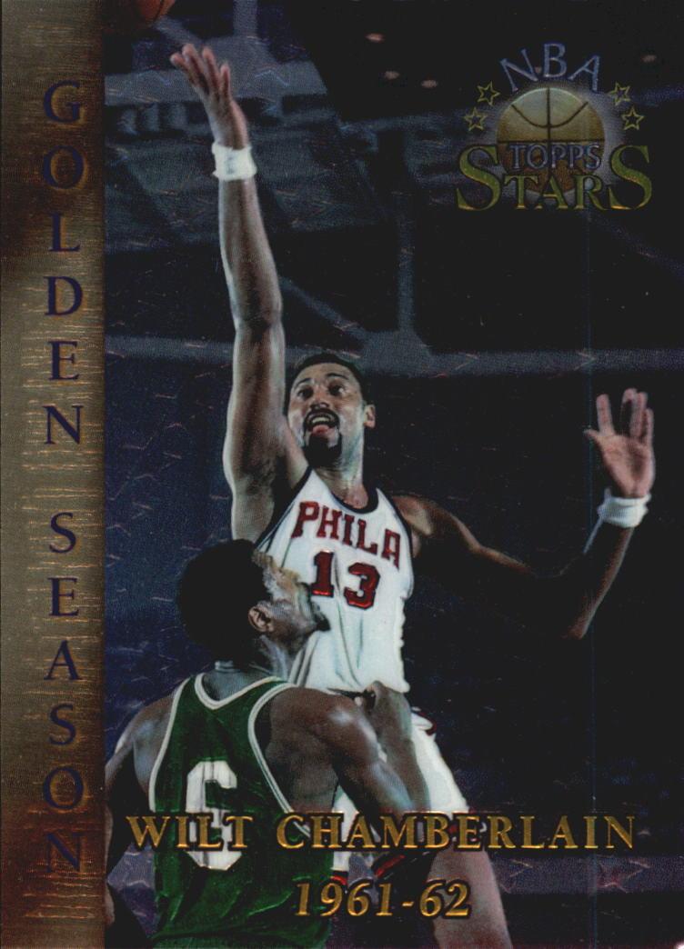 1996 Topps Stars Finest #59 Wilt Chamberlain GS