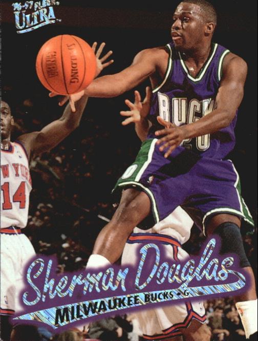 1996-97 Ultra Platinum Medallion #P62 Sherman Douglas