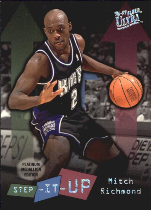 1996-97 Ultra Platinum Medallion #P284 Mitch Richmond SU