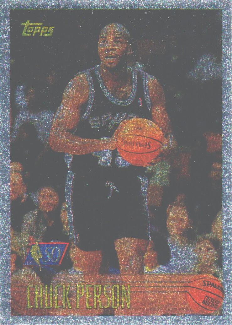 1996-97 Topps NBA at 50 #8 Chuck Person