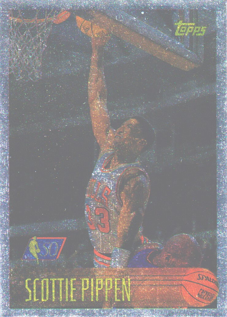1996-97 Topps NBA at 50 #33 Scottie Pippen