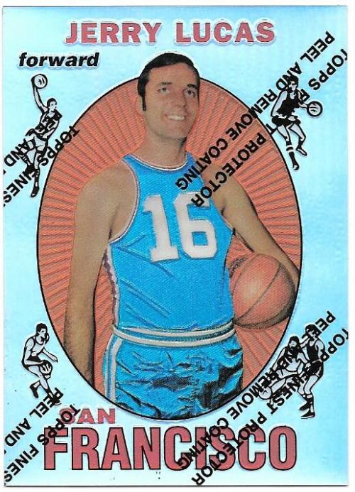 1996-97 Topps Finest Reprints Refractors #25 Jerry Lucas