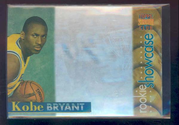 1996-97 Stadium Club Rookie Showcase #RS11 Kobe Bryant