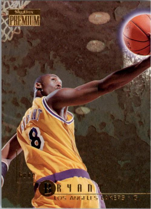 1996-97 SkyBox Premium #55 Kobe Bryant RC
