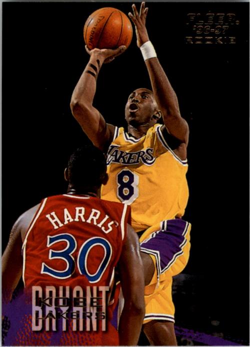 1996-97 Fleer #203 Kobe Bryant RC