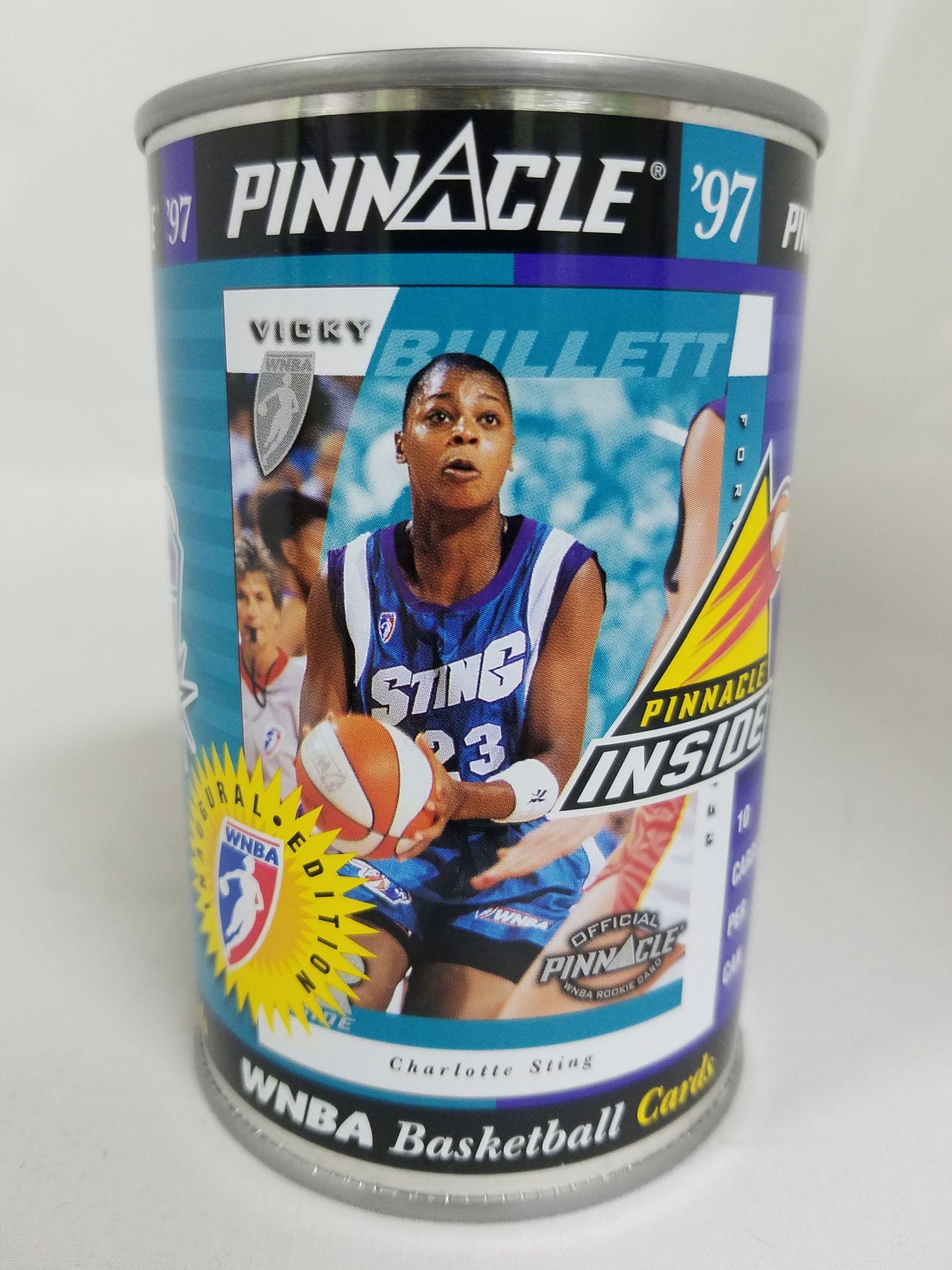 1997 Pinnacle Inside WNBA Cans #2 Vicky Bullett