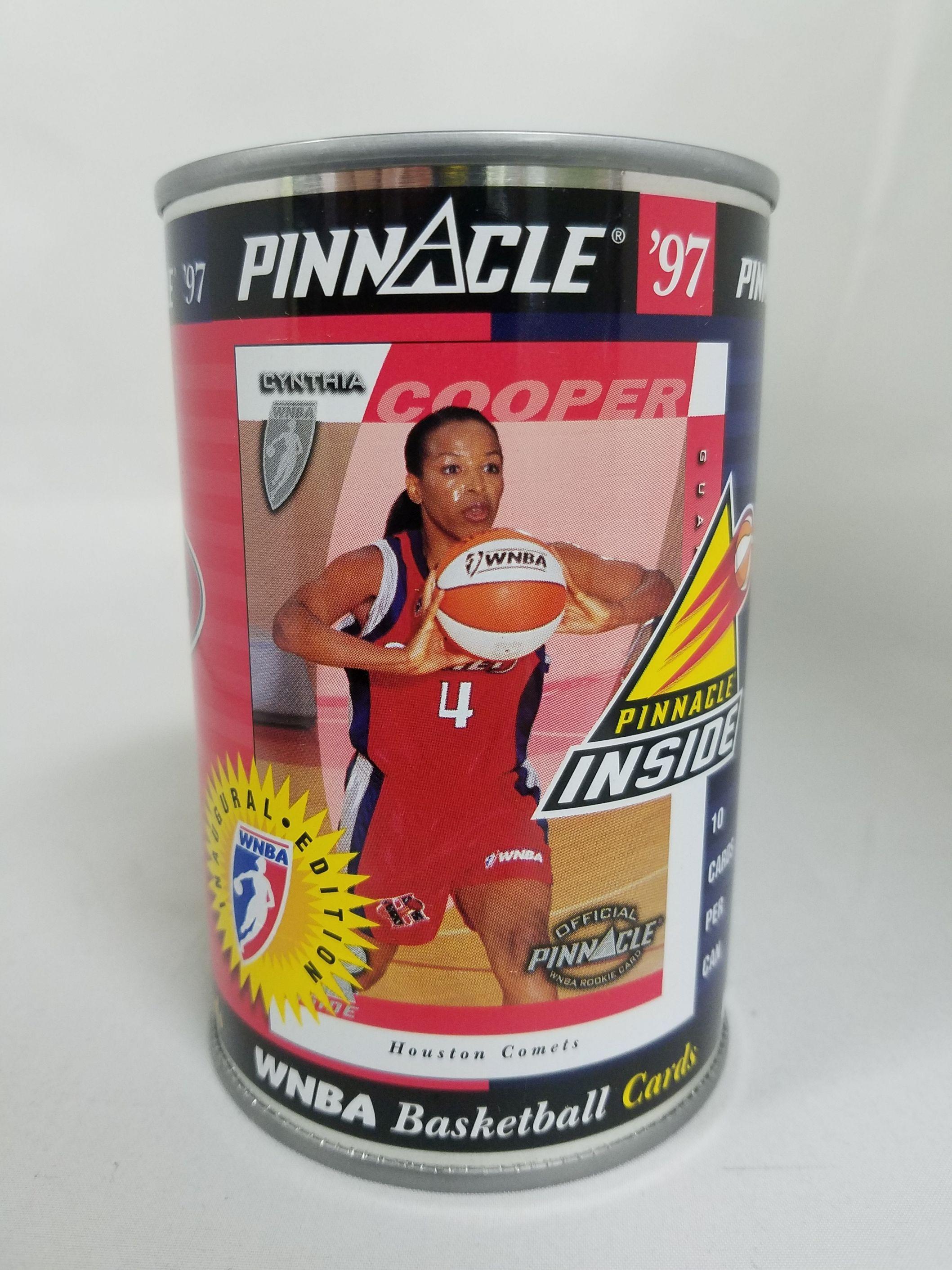 1997 Pinnacle Inside WNBA Cans #5 Cynthia Cooper