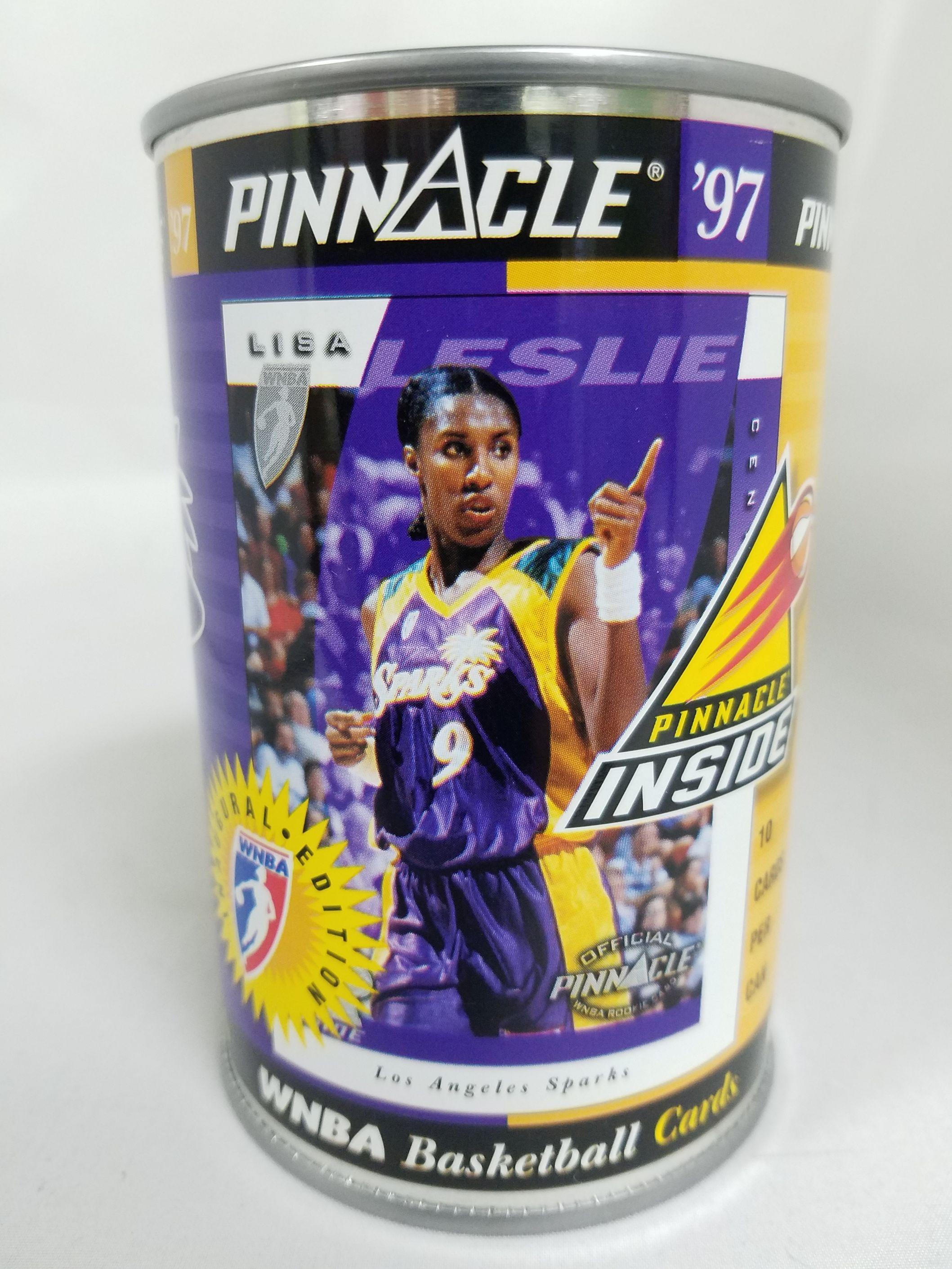 1997 Pinnacle Inside WNBA Cans #7 Lisa Leslie
