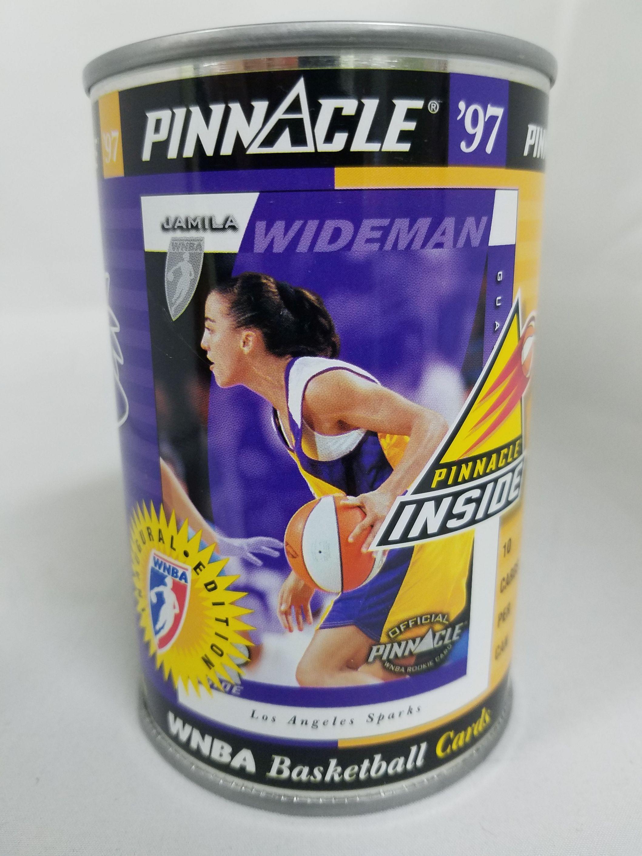 1997 Pinnacle Inside WNBA Cans #8 Jamila Wideman