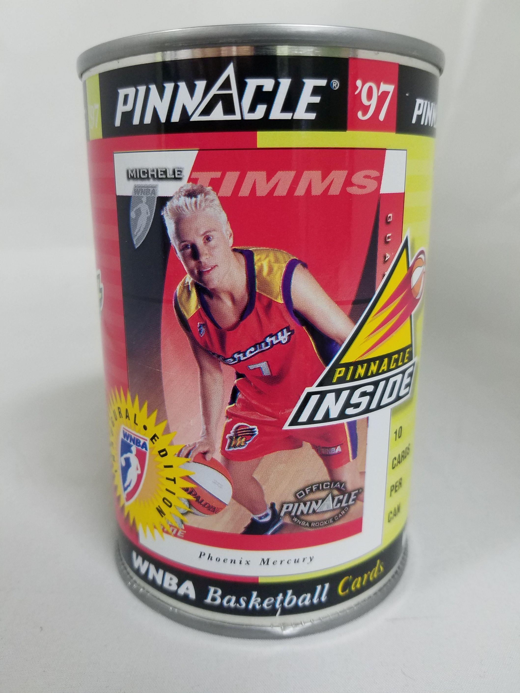 1997 Pinnacle Inside WNBA Cans #11 Michele Timms