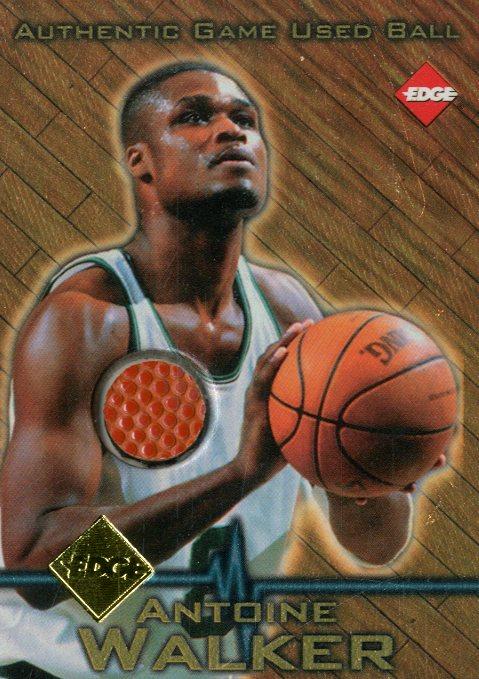 1997 Collector's Edge Game Ball #1 Antoine Walker
