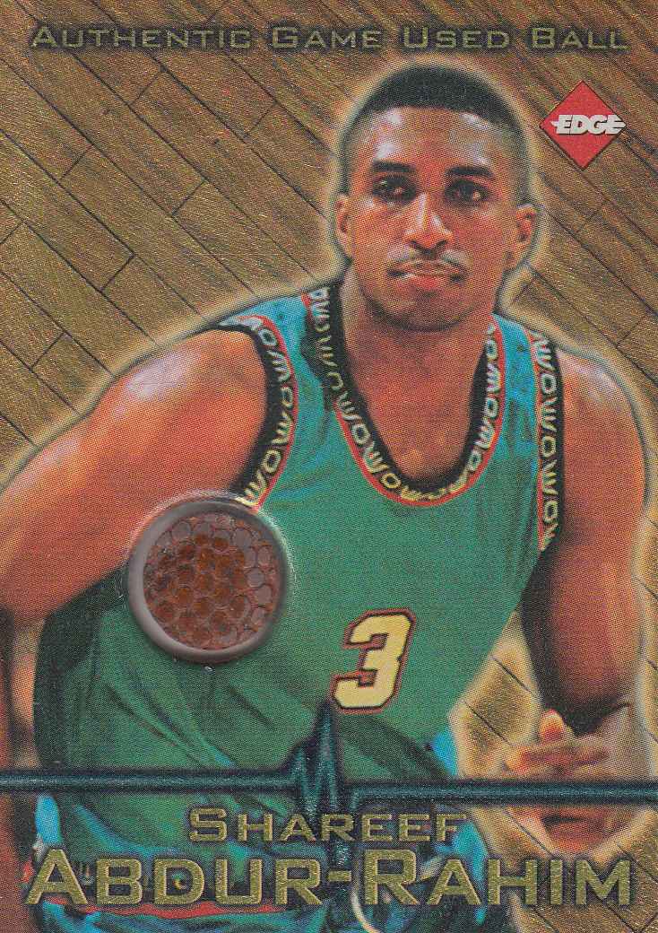 1997 Collector's Edge Game Ball #3 Shareef Abdur-Rahim