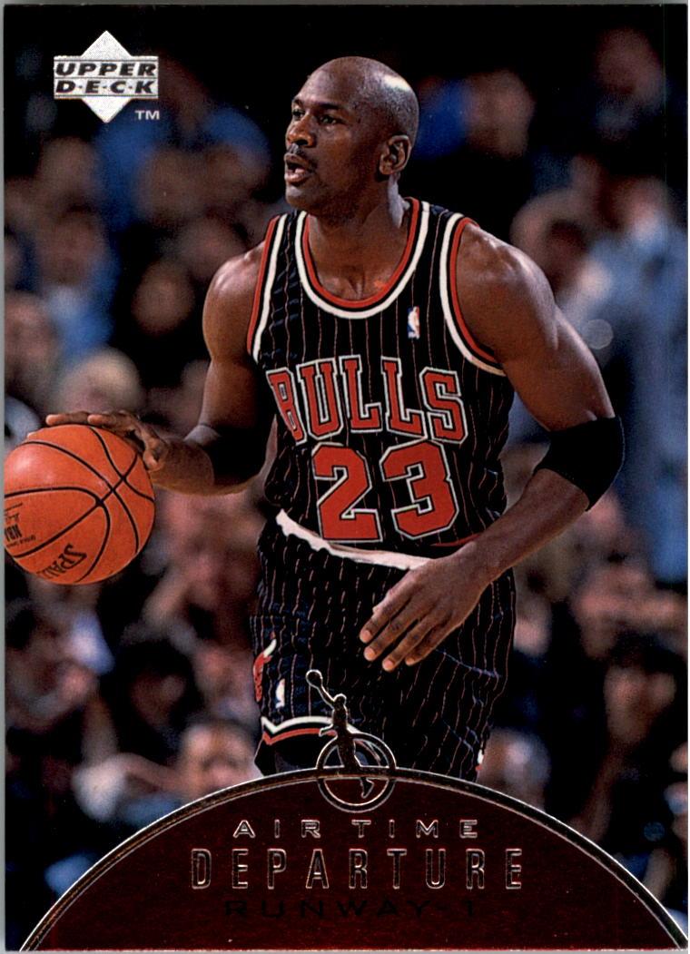 1997-98 Upper Deck Jordan Air Time #AT1 Michael Jordan