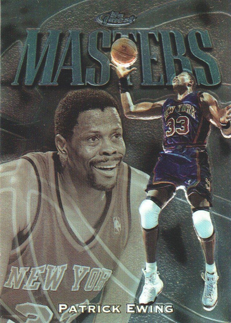 1997-98 Finest Embossed #124 Patrick Ewing S